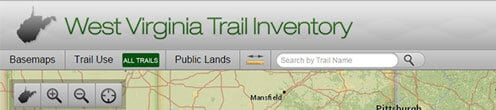 West Virginia Trail Inventory and Maps