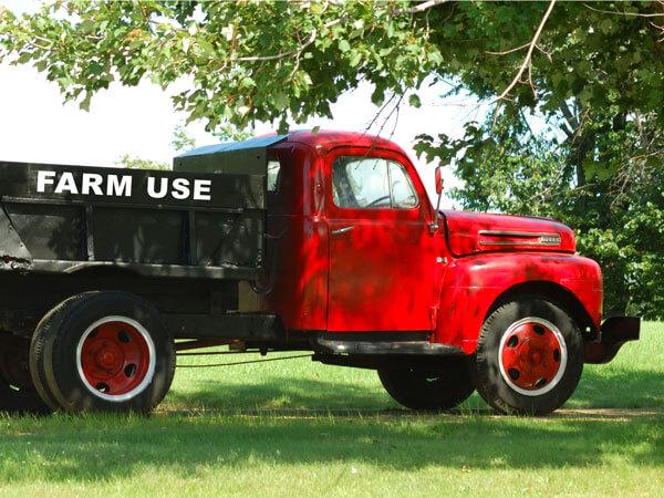 Farm Use Truck